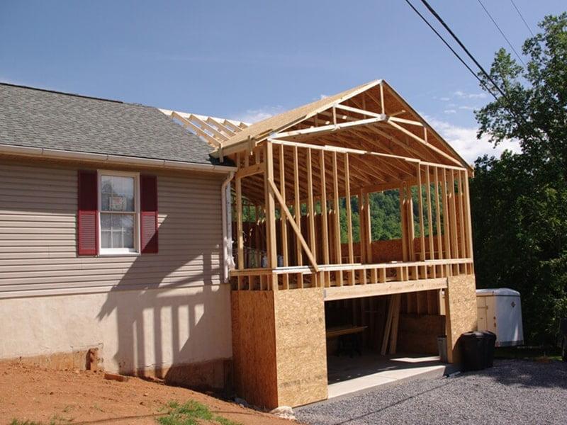Frame for roof
