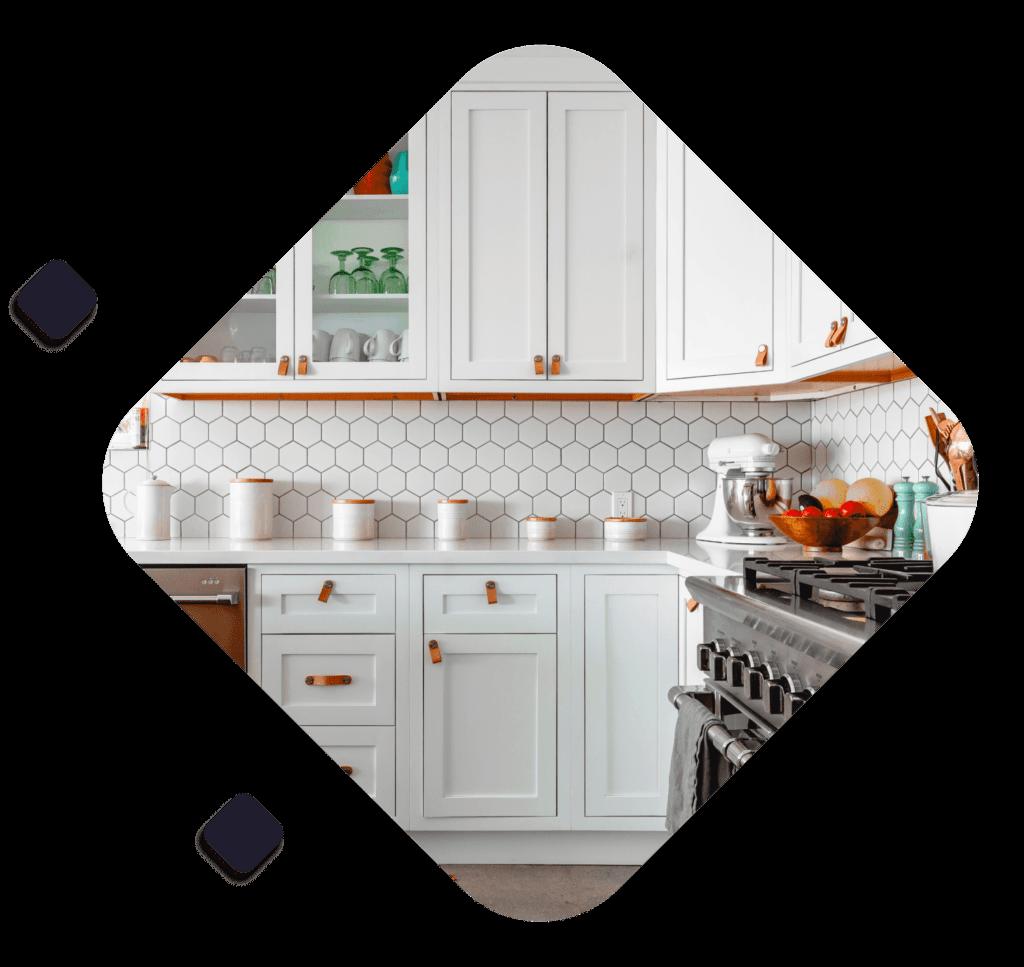 Kitchen page background